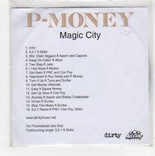 (GE945) P-Money, Magic City - DJ CD