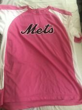 Jeury Familia Game Used St Lucie Mets Jersey Breast Cancer Support