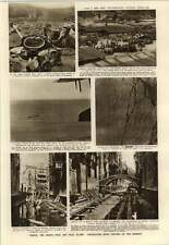 1952 Venice Repair To Bed Of Canal House Foundations Using Stage Comedy
