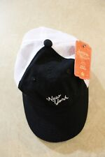 e1eb44995ad American Needle Adjustable Black and white New York hat        R15A4