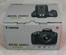Canon EOS 2000D EF-S 18-55 III Kit DSLR Kamera Schwarz WiFi 24.1 MP C29 22101 I5