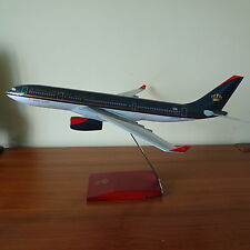 Huge 1/100 Royal Jordanian Airlines Airbus A330-200 Airplane Travel Agents Model