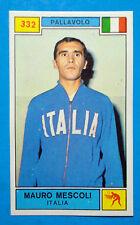 Figurina CAMPIONI DELLO SPORT 1969/70-n.332-MESCOLI (ITA)-PALLAVOLO-rec