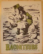 2006 The Raconteurs - Seattle Silkscreen Concert Poster S/N by Rob Jones