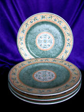 "4 Pfaltzgraff French Quarter 8"" Green Salad Stoneware Plates"