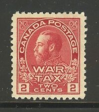 Canada #MR2, 1915 2c King George V - War Tax Issue, Unused HR