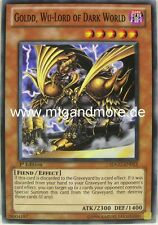 Yu-gi-oh 1x goldd, wu-lord of dark world - - - sdgu