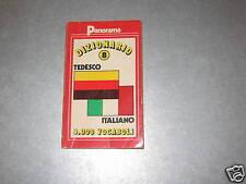 DIZIONARIO TEDESCO ITALIANO - PANORAMA