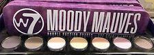 W7 Moody Mauves Tin 7pc Eye Colour Palette 7 G