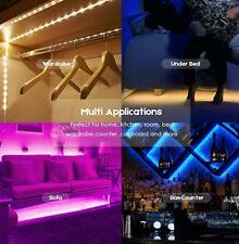 2M SMD RGB 5050 Waterproof LED Strip Light 120 & 24 Key Remote 12-Volt Supply...
