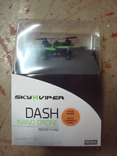 New Sky Viper Dash Nano Drone Indoor Flying Auto Hover - Auto Launch & Land