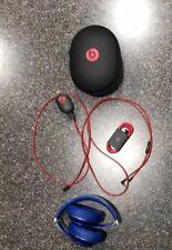 Beats By Dr. Dre Studio 2 Wireless Headphones Blue W/Case