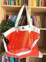 Rip Curl NEON BEACH GEAR BAG Womens Mesh Shoulder Beach Bag New - LTR2EA Orange