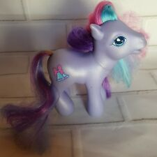 MY LITTLE PONY G3 Shimmery Purple TINK-A-TINK-A-TOO Bells Bow MLP 2002