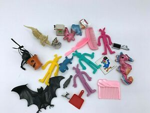 Junk Drawer Lot Toys Smalls Combs Stretch Bunnies Toucan Sam Miscellaneous Lot