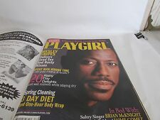 PLAYGIRL Magazine April 1998 Wesley Snipes Brian McKnight Plus  Gay Interest