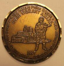 18th Military Police Brigade Ever Vigilant Award 1997 Army Challenge Coin