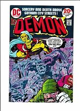 "DEMON #13  [1973 VG+]  ""THE NIGHT OF THE DEMON!"""