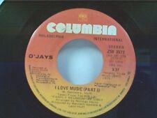 "O'JAYS ""I LOVE MUSIC / PART 2"" 45 MINT"