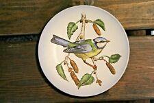 1975 Goebel Wildlife Second Edition Blue Titmouse Handpainted Plate