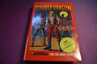 Atari 2600 7800 Double Dragon Boxed game cartridge ACTIVISION VGC PAL - UK STOCK