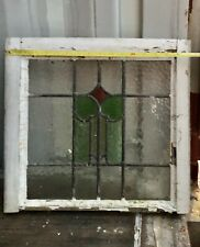Beautiful vintage  stained glass window panel