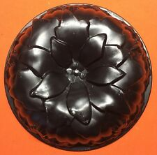 Vintage NORDIC WARE Poinsettia Flower Holiday Christmas ALUMINUM BUNDT CAKE USA