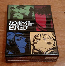 NEW Cowboy Bebop Complete Series Amazon Limited Edition Blu-ray/DVD Rare OOP