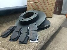 GENUINE TOYOTA CELICA 1.8 VVTi FRONT BRAKE PADS AND DISCS 2000 - 2005