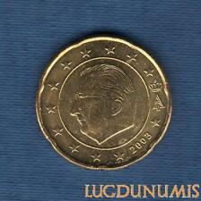 Belgique 2003 20 centimes d'euro SUP FDC Pièce neuve de rouleau - Belgium