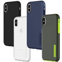 Custodia cover INCIPIO DualPro per iPhone X 10 XS protezione silicone+rigida