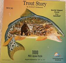Spilsbury Puzzle Co. #3112 SCHOOLS OUT Fish Shaped Puzzle 1000 pc
