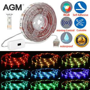 5050 LED Strip Lights TV Backlight RGB Colour Changing Under Cabinet Lighting