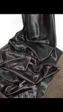 """1 mètres doublure noire en satin tissu... 58"""" large"""