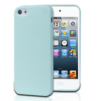 TPU Jelly Rubber Gel Skin Case Cover For Apple iPhone 5 5G 5th Gen Mint Green