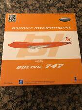 Inflight 200 Braniff Boeing 747 Orange White Tail N601BN IF741BRN0816 Polish!