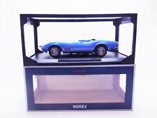 65525 Norev 189035 Chevrolet Corvette Convert. 1969 blau Modellauto 1:18 NEU OVP