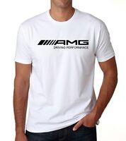 Mercedes-Benz AMG Logo Auto Moto T-Shirt All Sizes