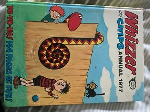 whizzer and chips annual 1977 *Please read description*