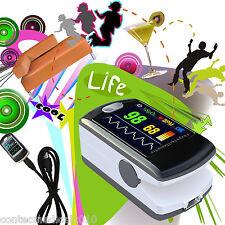NEW Fingertip Pulse Oximeter/oxymeter Spo2 monitor,PC software, USB CMS50E