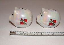 Ohio The Buckeye State - Pig Salt & Pepper Shakers, Age Unknown,  pre-owned
