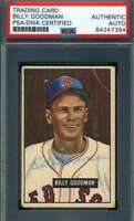 Billy Goodman PSA DNA Coa Autograph 1951 Bowman Hand Signed