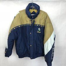 Phenom Vintage Notre Dame Puffy Jacket XL Puffer Coat Fighting Irish Winter