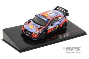 Hyundai i20 Coupe WRC Rallye Rally Sardinien 2020 Dani Sordo 1:43 IXO RAM 763