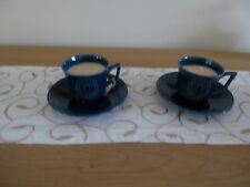 Blue Cup Saucer Candle (Lavender Scent)