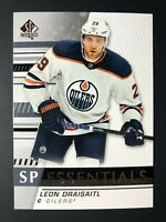 2019-20 SP Authentic Essentials Leon Draisaitl