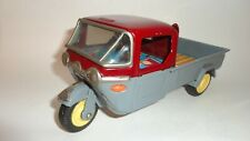 "1950'S Mazda Three Wheel Truck 8 1/2"" By Bandai Of Japan"