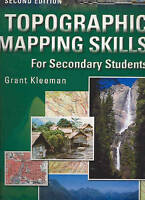 Topographic Mapping Skills for Secondary Students: Skil - Paperback NEW Kleeman,