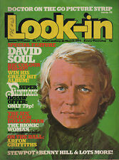 Look-In Magazine No.13  26 March 1977   David Soul   Arfon Griffiths