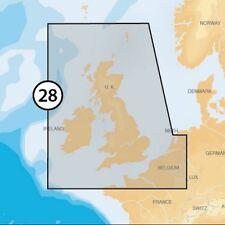Navionics PLATINUM + XL3 28P+ MSD CARD CON ADATTATORE SD Regno Unito e Irlanda Grafico